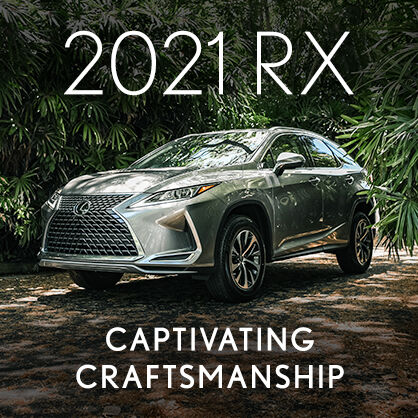 Explore the 2021 Lexus RX.