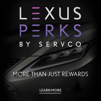 Learn more about exclusive Lexus Perks.